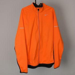 Nike Men Jacket sport gym casual sz M Dri-Fit reflection neon cycling